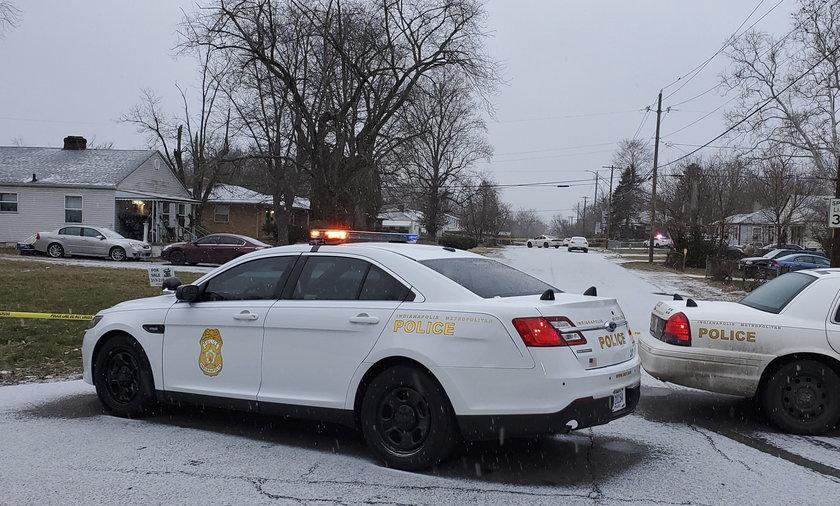 USA. Strzelanina w Indianapolis. Mieszkańcy jednej z dzielnic na północy miasta usłyszeli strzały nad ranem.