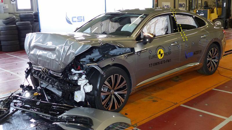 EuroNCAP - Volkswagen Arteon