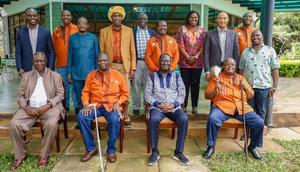 We've been sold fear for decades – Raila says after meeting with Kikuyu Council of Elders