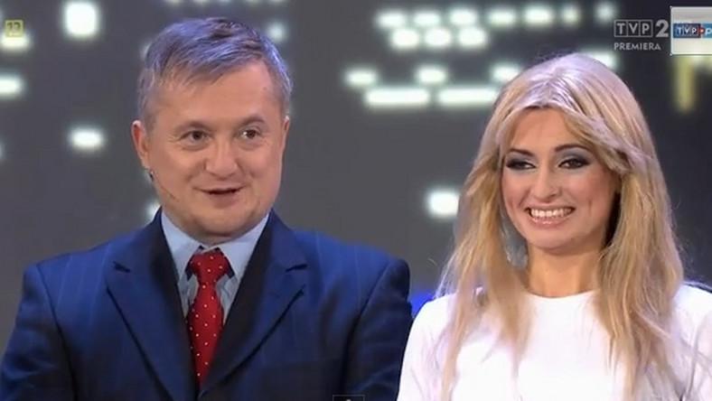 """kabaretowa konferencja Magdaleny Ogórek w """"Latającym Klubie 2"""""""