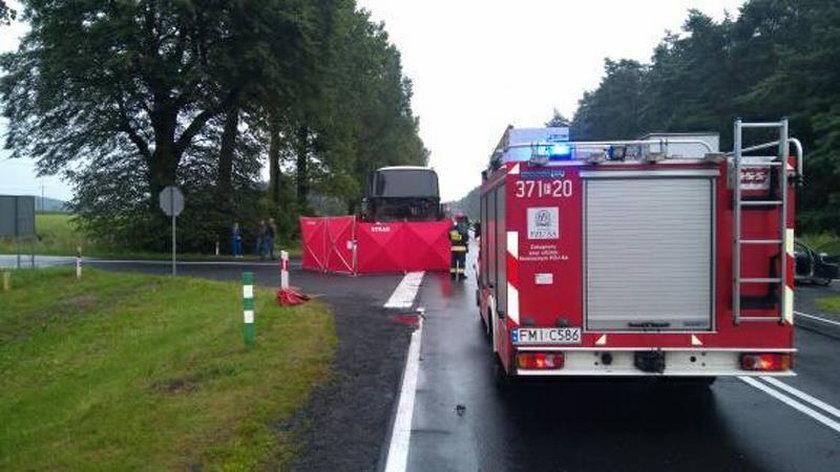 Wypadek w miejscowości Goraj