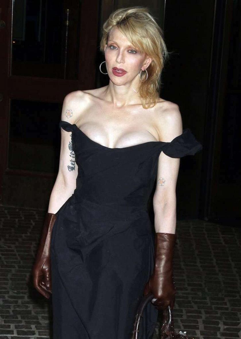 Courtney Love dumna z tatuaży córki
