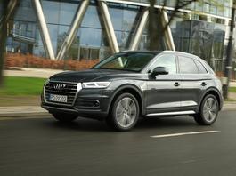 """Audi Q5 40 TDI – """"Q5-ka"""" na piątkę z plusem"""