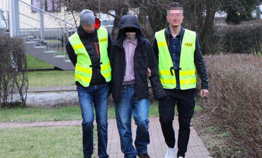 Krzysztof S., który konstruował bomby w swoim mieszkaniu, został aresztowany
