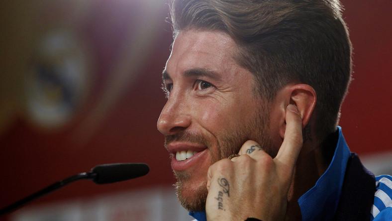 Sergio Ramos Ma Nowy Tatuaż Sport