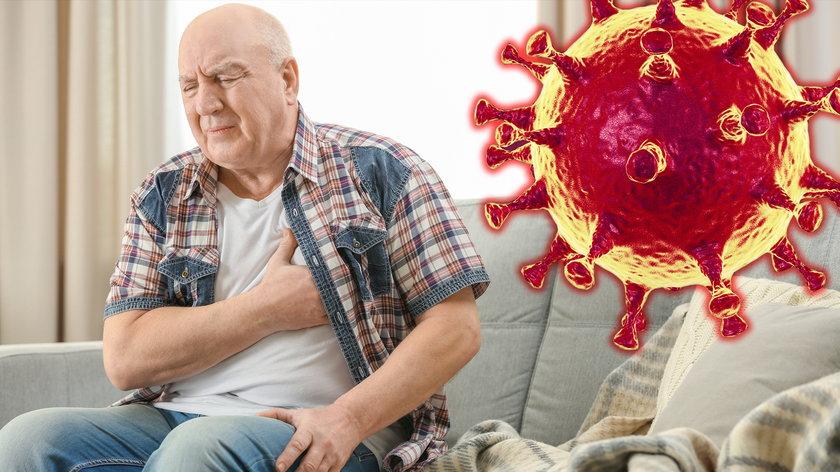 Koronawirus atakuje serce.