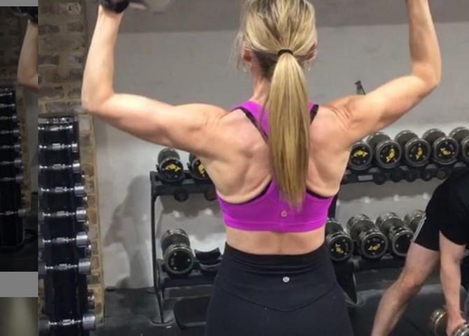 Džejn vežba svaki dan