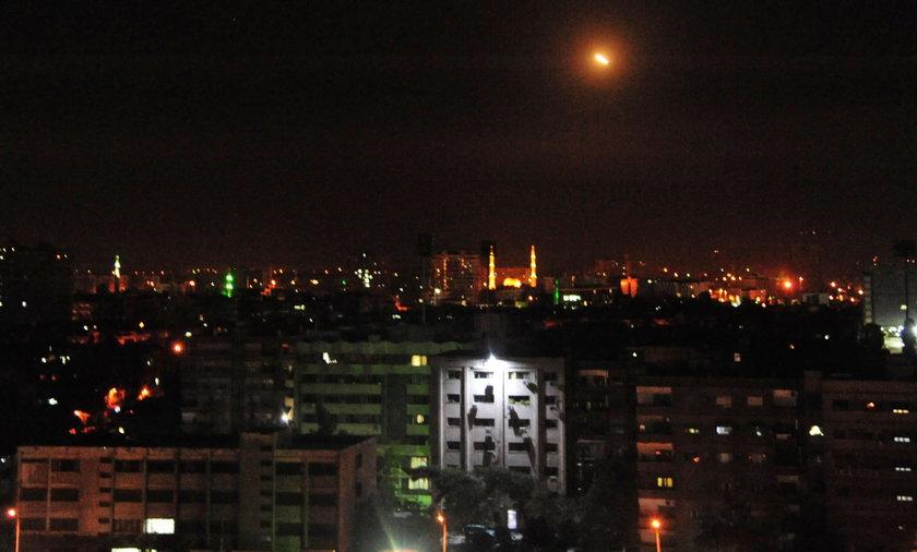 Władze Syrii oskarżyły Izrael o atak rakietowy