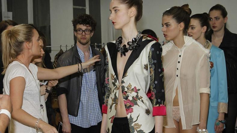 Była partnerka Borysa Szyca zaprezentowała swoją pierwszą kolekcję podczas Warsaw Fashion Weekend