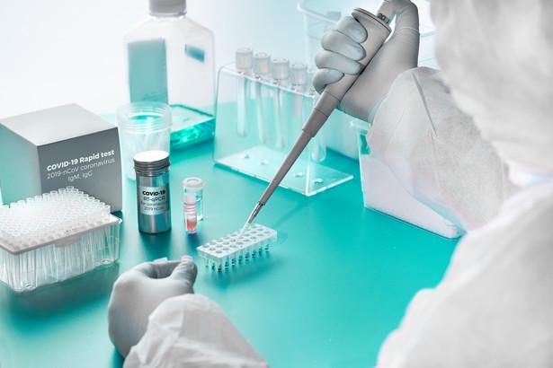 Ministerstwo Zdrowia zaktualizowało wykaz laboratoriów diagnostycznych