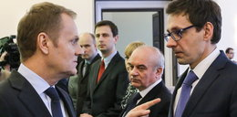 Minister Tuska wyrzucony z rządu, a już znalazł pracę!