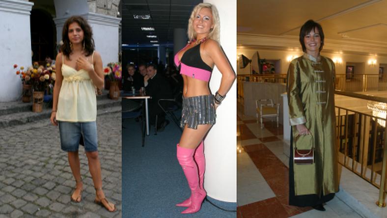 Ich styl ubierania bardzo się zmienił!