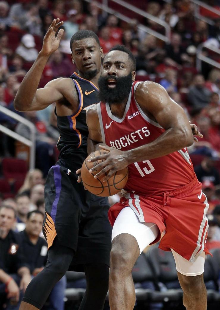 Hjuston, NBA