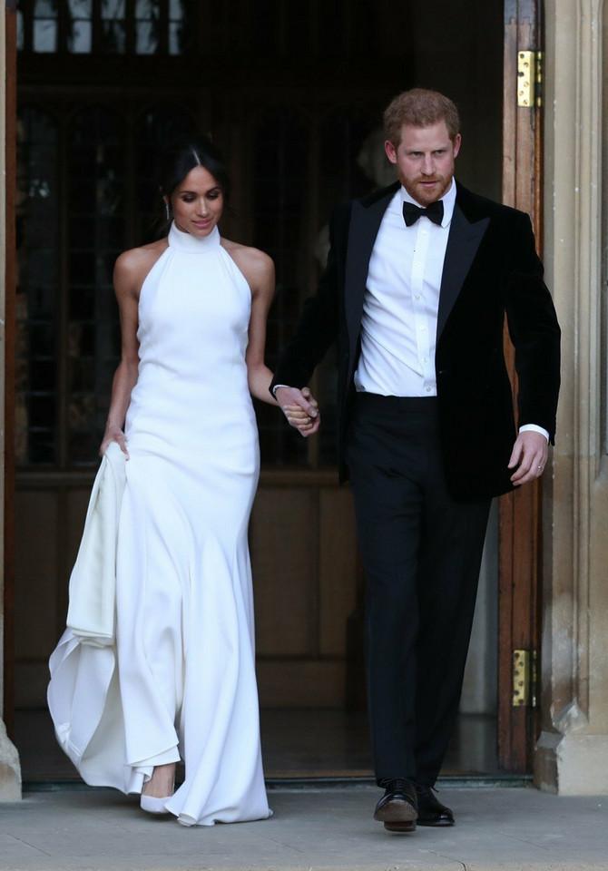 Druga haljina Megan Markl: mlada sa svojim princom