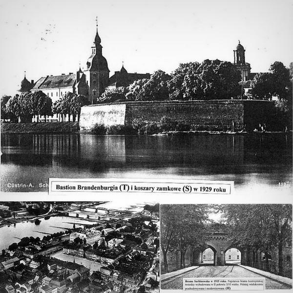 Kostrzyn nad Odrą na zdjęciach archiwalnych