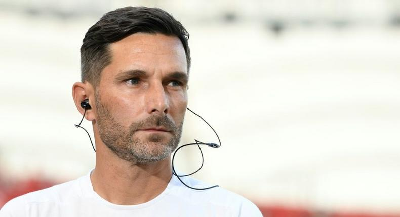 Greuther Fuerth head coach Stefan Leitl says his side must show 'courage' against Bayern Munich in Friday's David versus Goliath Bundesliga clash Creator: THOMAS KIENZLE