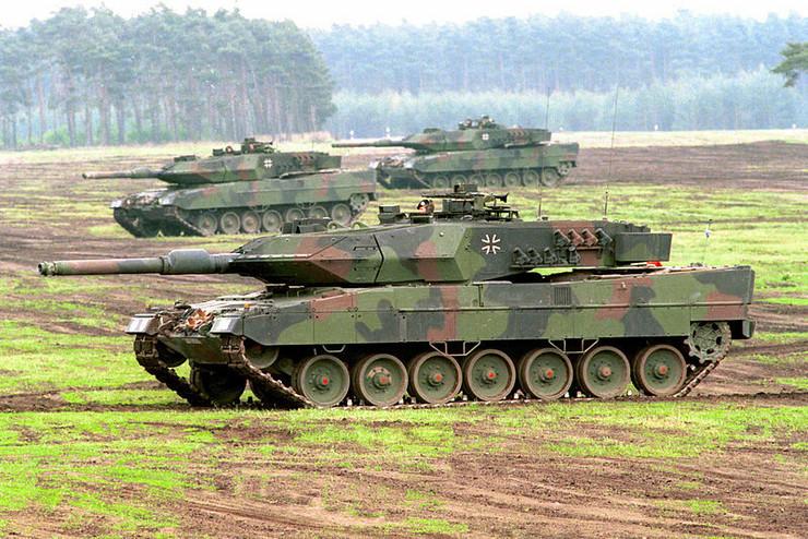 tenk Leopard 2
