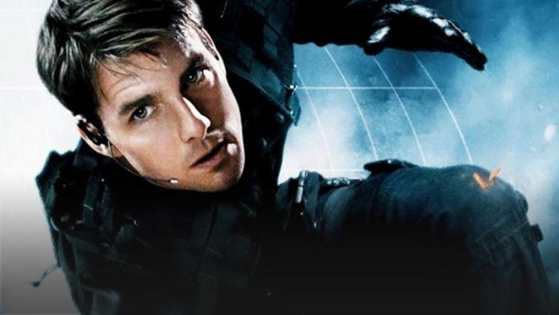 "Tom Cruise w filmie ""Mission: Impossible"""