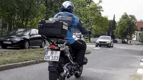 Motocykle BMW komunikują się z samochodami