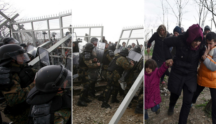 migranti makedonija foto Tanug AP