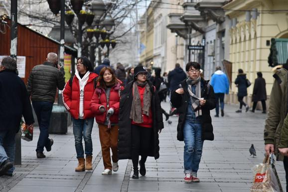 Kinezi sve brojniji u Beogradu