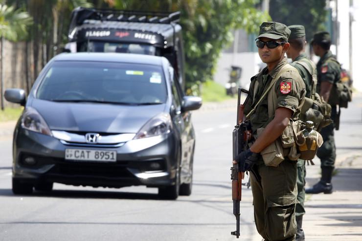 Šri Lanka policija EPA M.A.PUSHPA KUMARA