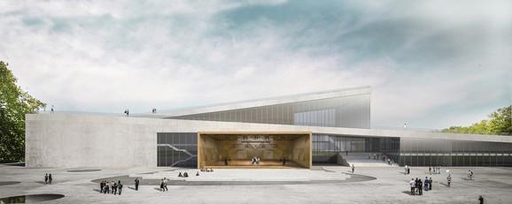 Ovako bi trebalo da izgleda nova zgrada Filharmonije