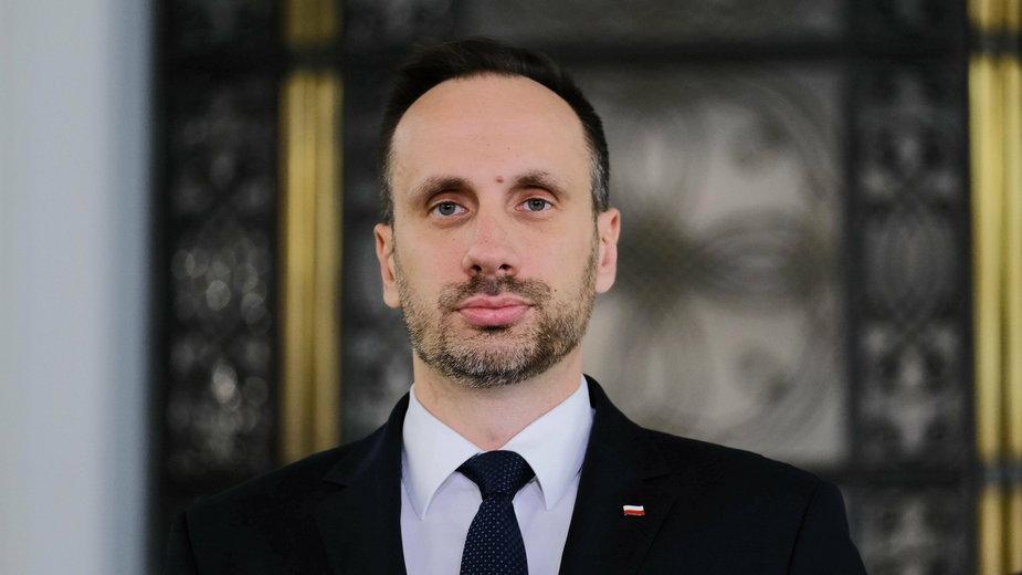 Sekretarz stanu w Ministerstwie Aktywów Państwowych Janusz Kowalski