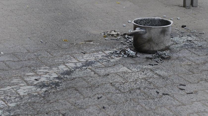 Bomba wybuchła na przystanku na ul. Kościuszki
