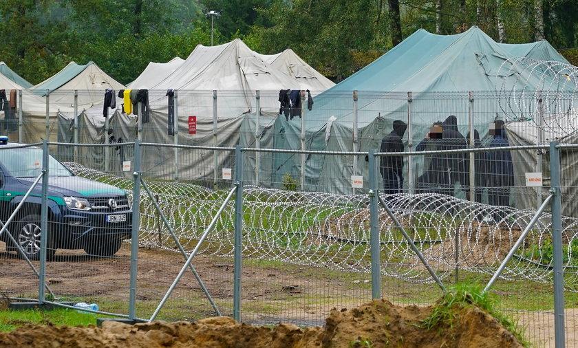 W Rudnikach na Litwie powstał obóz dla 800 uchodźców.