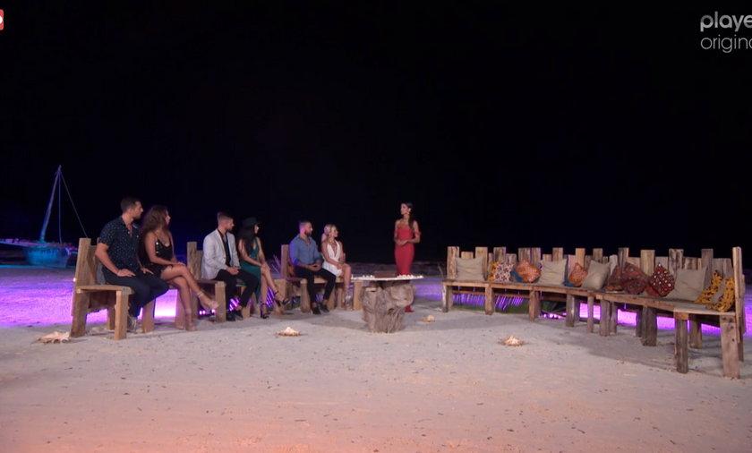"""""""Hotel Paradise"""" Marcin i Kara w ogniu pytań na ostatniej """"Puszcze Pandory"""" w trzecim sezonie. Jak zareagowała Nathalia na ich widok?"""