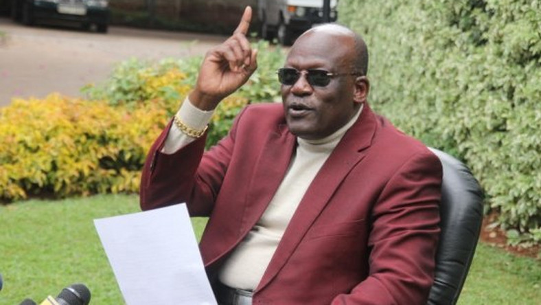 Former Machakos Senator Johnston Muthama
