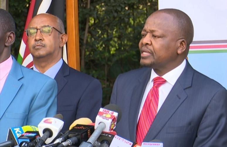 Health CS Mutahi Kagwe gives details on condition of 4 confirmed Coronavirus patients in Kenya