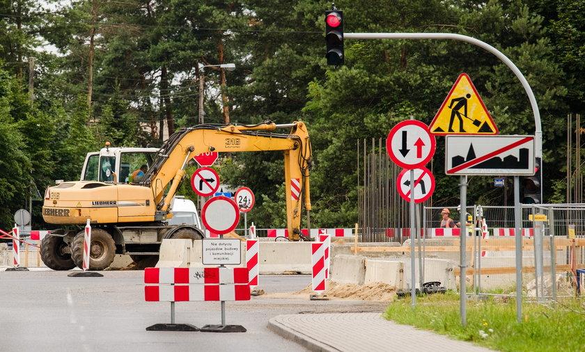 Rozpoczęła się przebudowa DK-1 w Dąbrowie Górniczej.