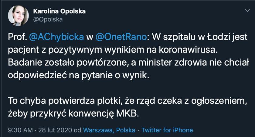 Teoria spiskowa: PiS ujawni newsa o koronawirusie w czasie konwencji Kidawy-Błońskiej?