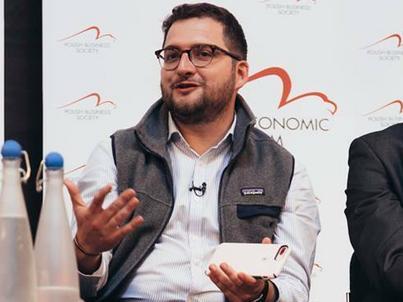 Tytus Cytowski na LSE Polish Economic Forum był jednym z jurorów Start-Up Challenge