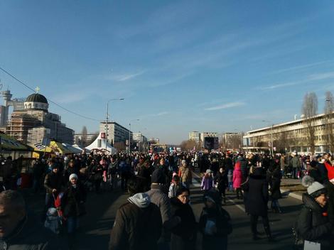Ulica otvorenog srca na Novom Beogradu