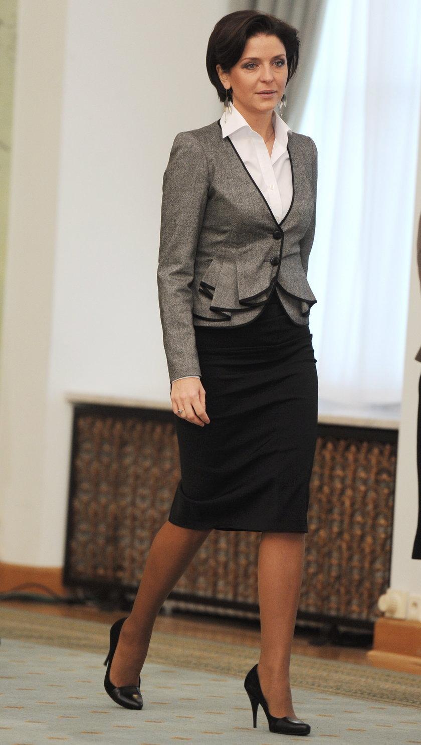 Joanna Mucha, była ministra sportu.