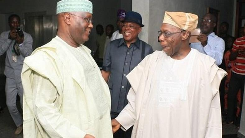 Obasanjo and Atiku mend fences in Abeokuta