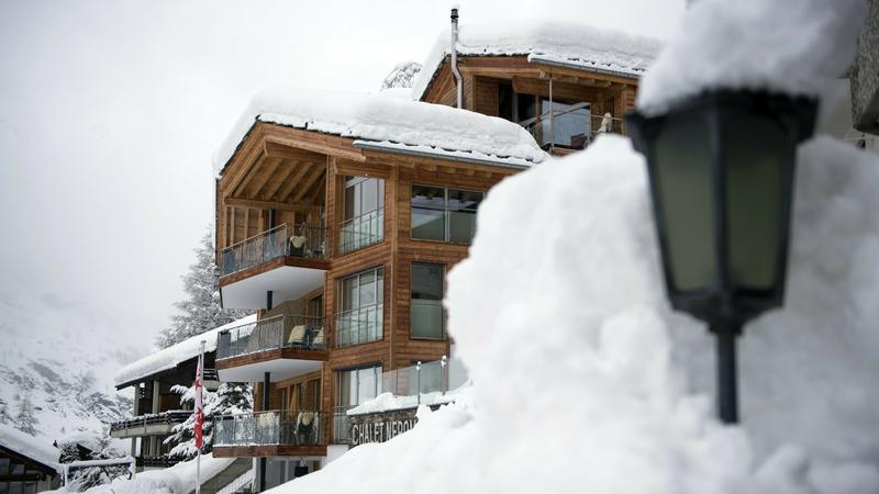 Atak zimy w Zermatt