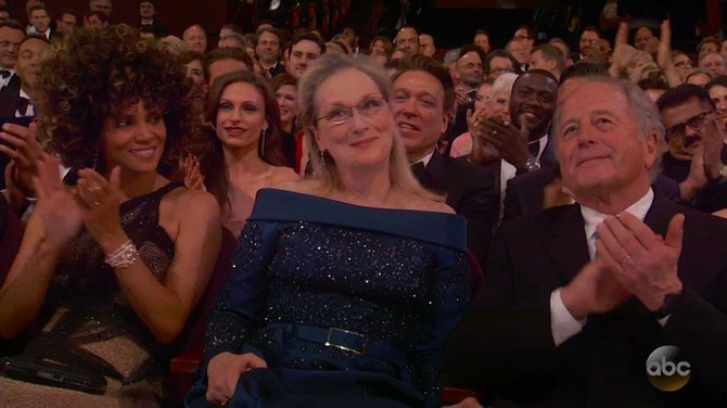 Tramp je nakon njenog govora rekao da je Meril Strip PRECENJENA GLUMICA