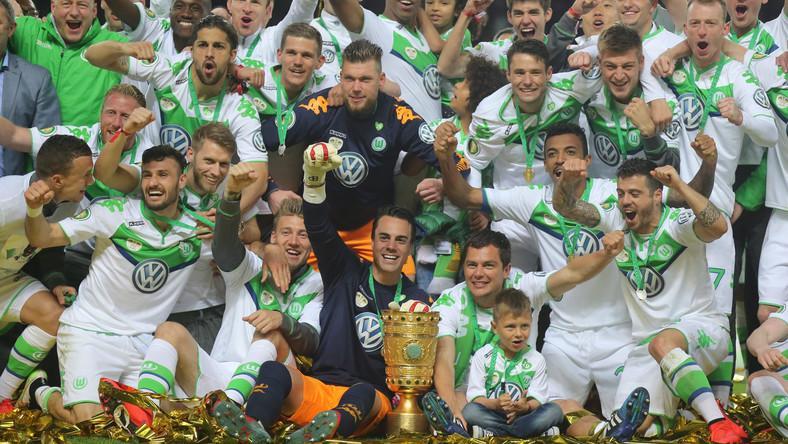 Piłkarze VfL Wolfsburg zdobyli Puchar Niemiec