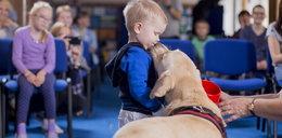 Psy pomagają dzieciom wyzdrowieć