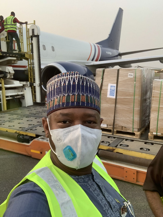 Minister of Aviation, Sen. Hadi Sirika. [Twitter/@hadisirika]