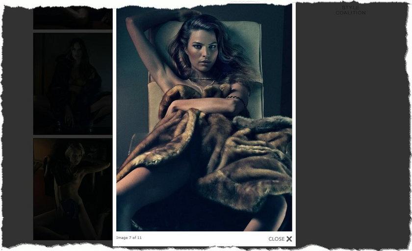 """Modelki w sesji dla """"Interview Magazine"""""""