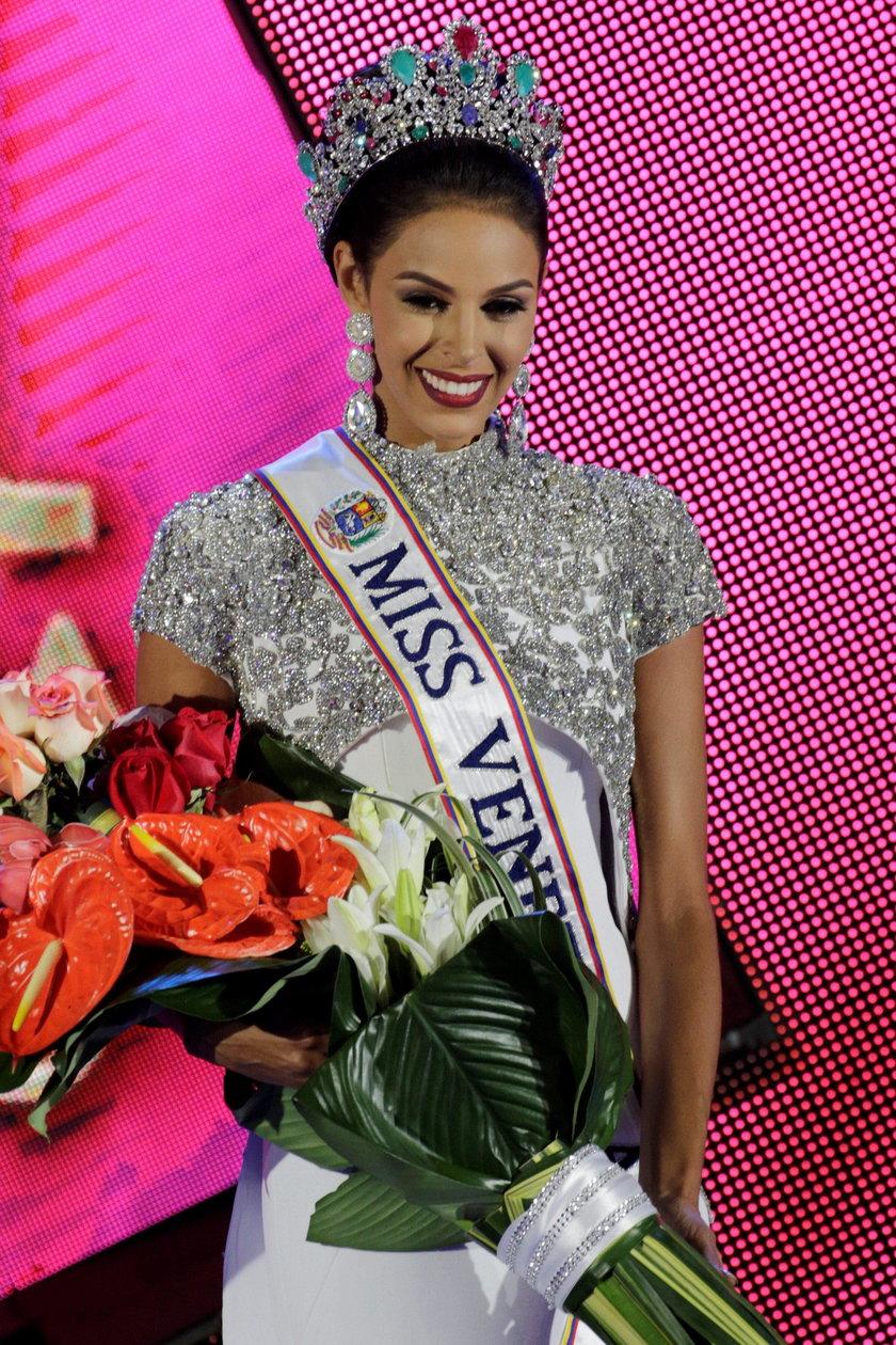 Keysi startowała w konkursie jako Miss Monagas