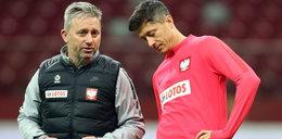 Brzęczek odniósł siędo reakcji Lewandowskiego: Troszeczkę niefortunna