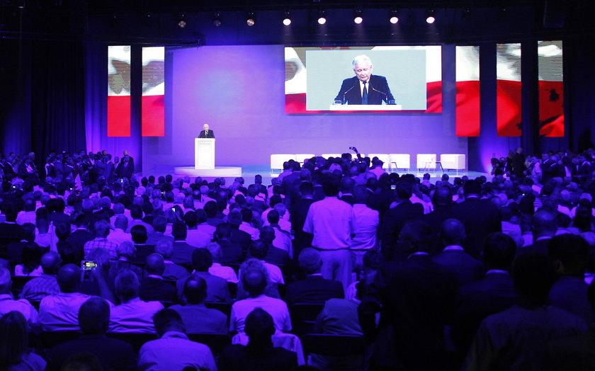 Konwencja PiS w Katowicach lipiec 2015