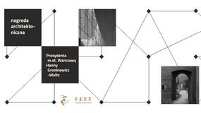 Kolejna edycja nagród dla najlepszych architektów w Warszawie