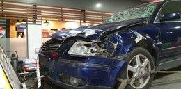 Potworny wypadek gwiazd disco polo. Auto zostało doszczętnie zniszczone
